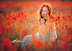 Fiery Evening - Children Photography by Lisa Holloway
