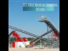 Need a conveyor, or materials handling solution? Manhattan can get your material from your production area to the plant at less cost than yo. Mining Equipment, Golden Gate Bridge, Waiting, Watch, Youtube, Plants, Travel, Clock, Viajes