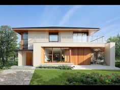 Home Design - Japan Modern Style House - 三井ホーム Japan Modern House, Modern House Design, American Style House, Morden House, Exterior House Colors, New House Plans, Japanese House, Classic House, House In The Woods