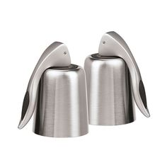 Oggi 2-pk. Stainless Steel Vacuum Wine Bottle Stoppers, Multicolor