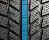 Winter Tyre Tread Pattern