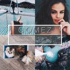 GOMEZ - This is a really pretty blue/tan/white filter, looks good on all photos but do recommend sticking to a certain scheme. Great for selfies! Instagram Theme Vsco, Photo Instagram, Instagram Feed, Free Instagram, Best Vsco Filters, Insta Filters, Filters Instagram, Photography Filters, Photography Editing