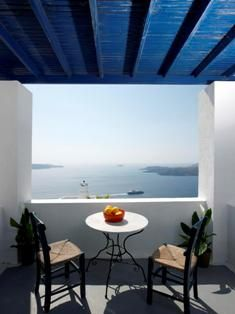 Santorini - Can't wait to sit right there with my coffee
