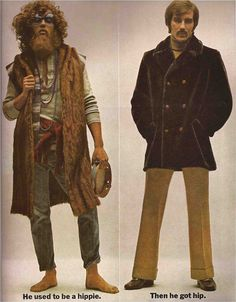 """GQ September 1969 """"He Used To Be A Hippie, Then He Got Hip"""""""