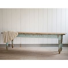 Vintage Farmhouse Table from Rachel Ashwell Shabby Chic Couture®