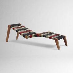 John Vogel Mantis Lounger modern outdoor chaise lounges