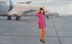 Turkish Airlines Retro Pictures:ISTANBUL AIRSIDE