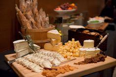 Beautiful cheese display