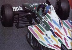 1986 Gerhard Berger Benetton-BMW B186 Méjico-Hnos Rodriguez