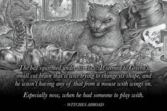 Discworld (@Discworld_com) | Twitter Discworld Characters, Neil Gaiman Quotes, Cute Fluffy Kittens, Terry Pratchett Discworld, Cat Brain, Vampire Bat, Small Cat, Fantasy Books, I Love Books