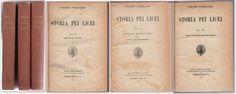 3 VOLUMI PIETRO FERRARIS-STORIA PEI LICEI -ALBRIGHI SEGATI 1920-1922 -L4184