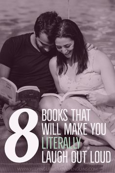 The world is depressing enough; sometimes, curling up with a book that will make you chuckle is just the thing you need to take your mind off it. So this week I'm giving you full permission to indulge your desire to giggle: here are eight books that will make you laugh out loud... #LOL #FunnyBooks #Funny #Comedy #Satire #MustRead #BestBooks #BooksToRead #BookList #ReadingList #LiteralLOL #Booklovers #Bookworms #Bookish #Bibliophile