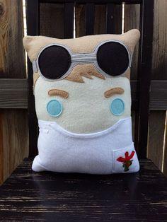 Dr Horrible pillow plush cushion by telahmarie on Etsy