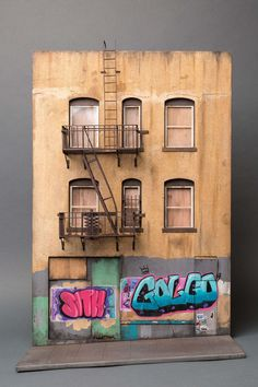 Made from paper: Miniature Urban Landscape by Joshua Smith