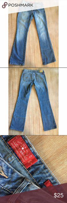 Lucky Brand Leyla Bootcut Jeans Size 25 Light wash bootcut jeans. Size 25. Lucky Brand Jeans Boot Cut