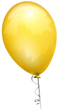 File:Yellow toy balloon.svg