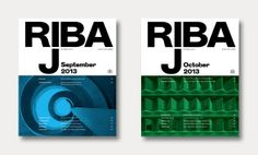 RIBA Journal redesign by Matt Willey