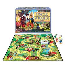 Uncle Wiggily Game Ages 4-8 - 1 ea