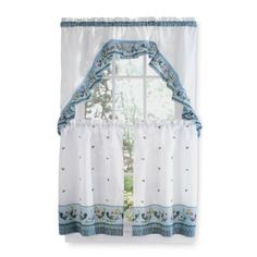Rooster Kitchen Curtains | Rooster Tier Set   Curtain Drapery.com