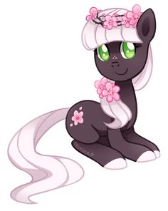 Pony Adoptable Auction ~ Cherry Blossom (CLOSED) by tsurime.deviantart.com on @deviantART
