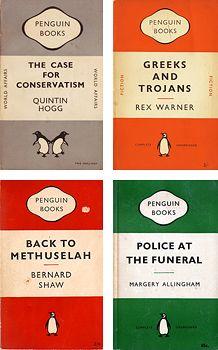 Penguin classic, 1948; Jan Tschichold