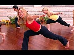 Denise Austin: Total Body Standing Pilates 15 minute video- good to add to the end of a 20 minute cardio
