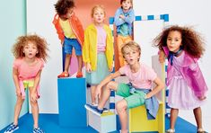 These colorful crewcuts styles= the building blocks of an awesome Spring wardrobe.