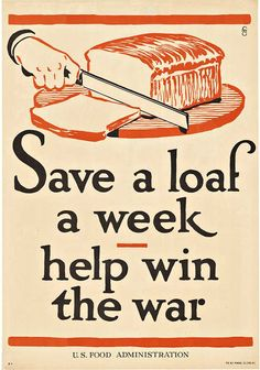 A1 A2 A3 A4 A5 Food Don/'t Waste It War Vintage Vintage Art Print Poster