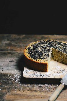 sesame tahini baath cake (goan coconut cake)