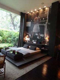 Trendy Bachelor Pad Bedroom Ideas, luxury living for bachelors, with style and design!