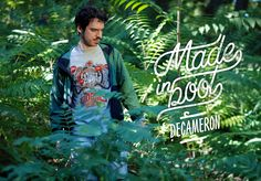 Ohmyboot Clothing - Lookbook 2015 - Decameron Tshirt