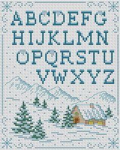 Cross Stitchers Club In the Snow