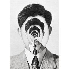 Illustration by Nicolas Malinowsky  illusion, illusione ottica, optical, psychedelic, psichedelico,arte,art