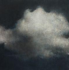 Alejandro Marco,Nube, 2013. Óleo sobre lienzo, 120x120cm