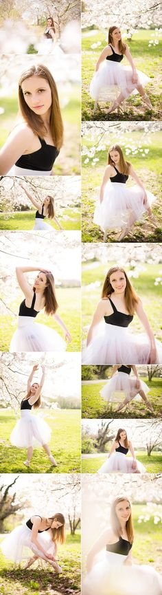 Senior girl dance photography.