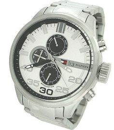 Tommy Hilfiger Multifunction Silver Dial Men's watch #1790786 Tommy Hilfiger. $139.20. Brand:Tommy Hilfiger. Model: 1790786. Condition:brand new with tags. Band color: silver. Dial color: silver tone