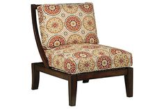 """TWO IN STOCK - Sevan Accent Chair: 28.5"""" W x 33.13"""" D x 37.5"""" H- Rent: $39; SALE PRICE-Buy: $299"""