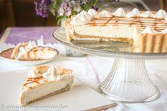 Ahornsirup Karamell Cheesecake Tarte ohne Backen