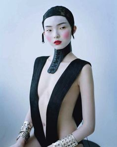 Xiao Wen Ju. 'Magical Thinking'.  Photographed by Tim Walker for W magazine (March 2012 issue).