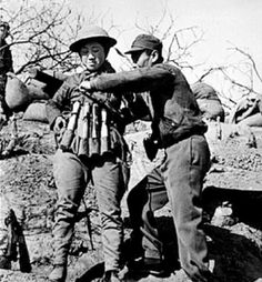"""""""Chinese suicide bomber putting on an explosive vest made out of Model 24 hand grenades to use in an attack on Japanese tanks at the Battle of Taierzhuang"""", 1938 China fought Japan, with some economic help from Germany (see Sino-German cooperation until 1941), the Soviet Union and the United States. After the Japanese attack on Pearl Harbor in 1941, the war would merge into the greater conflict of World War II as a major front of what is broadly known as the Pacific War."""