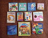 Lot of 11 Children's BOARD Books Lower Elementary Toddler Preschool Daycare (E)