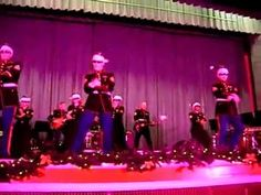 Here Comes Santa Claus (Gangnam Style!)  These Marines are awesome!