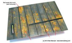 Antrvm Ratvs - The hairspray chipping paint method