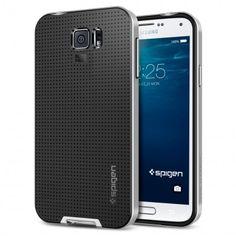 Carcasa Samsung Galaxy S6 Spigen SGP Neo Hybrid Plata 25,99 €