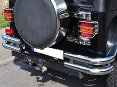 76' jeep wrangler back bumpers