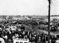 March SCHOOL DISASTER IN NEW LONDON - In America's worst school disaster, nearly 300 people, most of them children, are killed in a natural gas explosion at the New London Consolidated School in Rusk County, Texas. Texas City Explosion, Henderson Texas, Today In History, New London, Major Events, Galveston, Westminster, Historical Photos, Paris Skyline