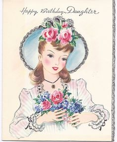 Love the old greeting cards.  Such stunning graphics