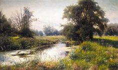 PEDER MØNSTED DANISH, 1859-1941 SOMMEREFTERMIDDAG - by Sotheby's