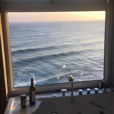 Image about beautiful in Sea 🌊 Ocean by ♡ann. Through The Window, Window View, Interior Exterior, Interior Design, Interior Paint, Places To Go, Beautiful Places, Photos, Pictures