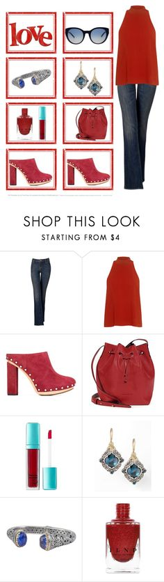 """""""Red shoes"""" by shannon415 ❤ liked on Polyvore featuring Simply Vera, A.L.C., Par Avion Tea, Proenza Schouler, e.l.f., Konstantino and Tory Burch"""